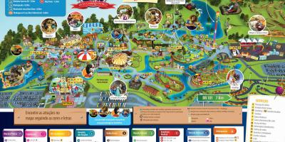 Carte de Beto Carrero World